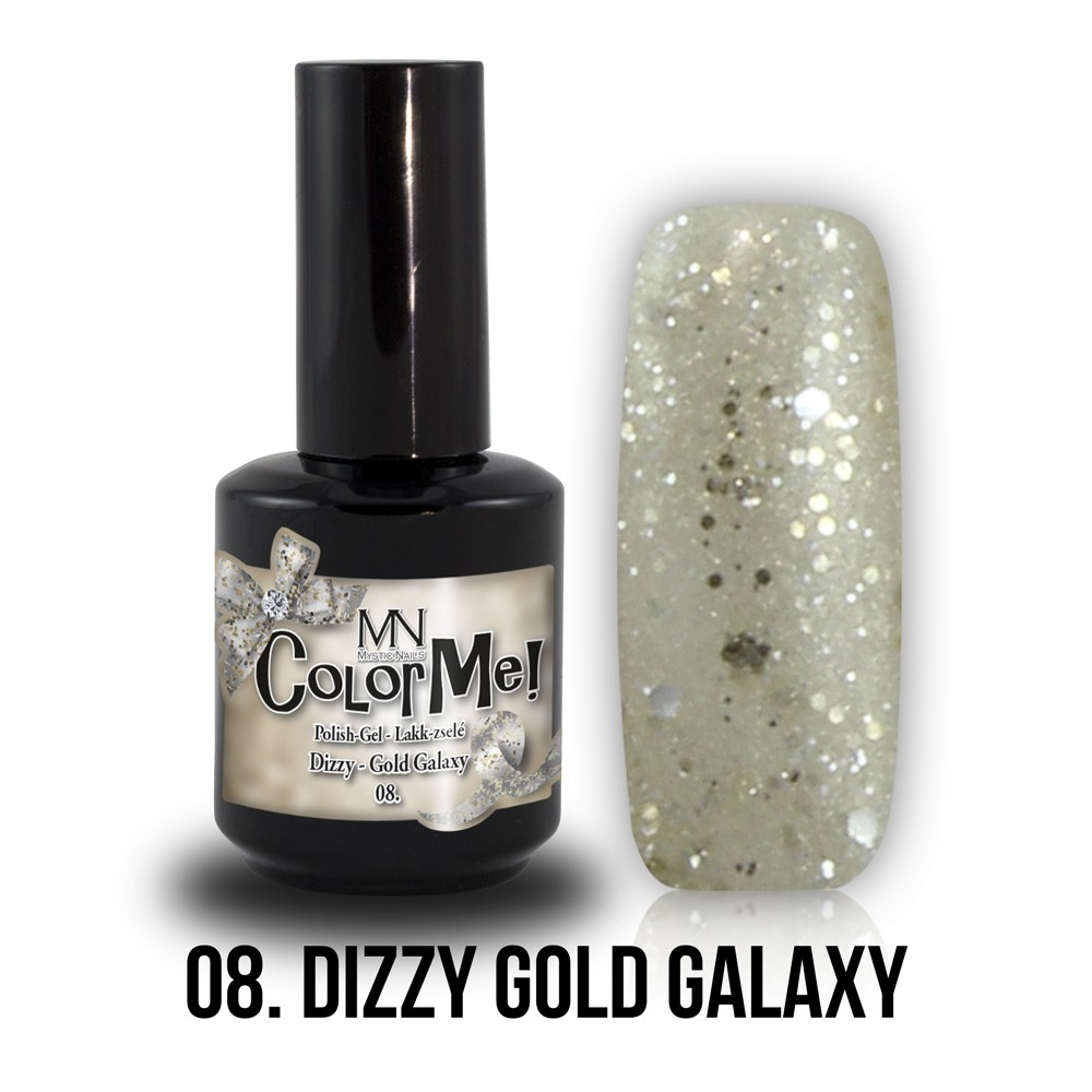 Gel Polish ColorMe Dizzy Gold
