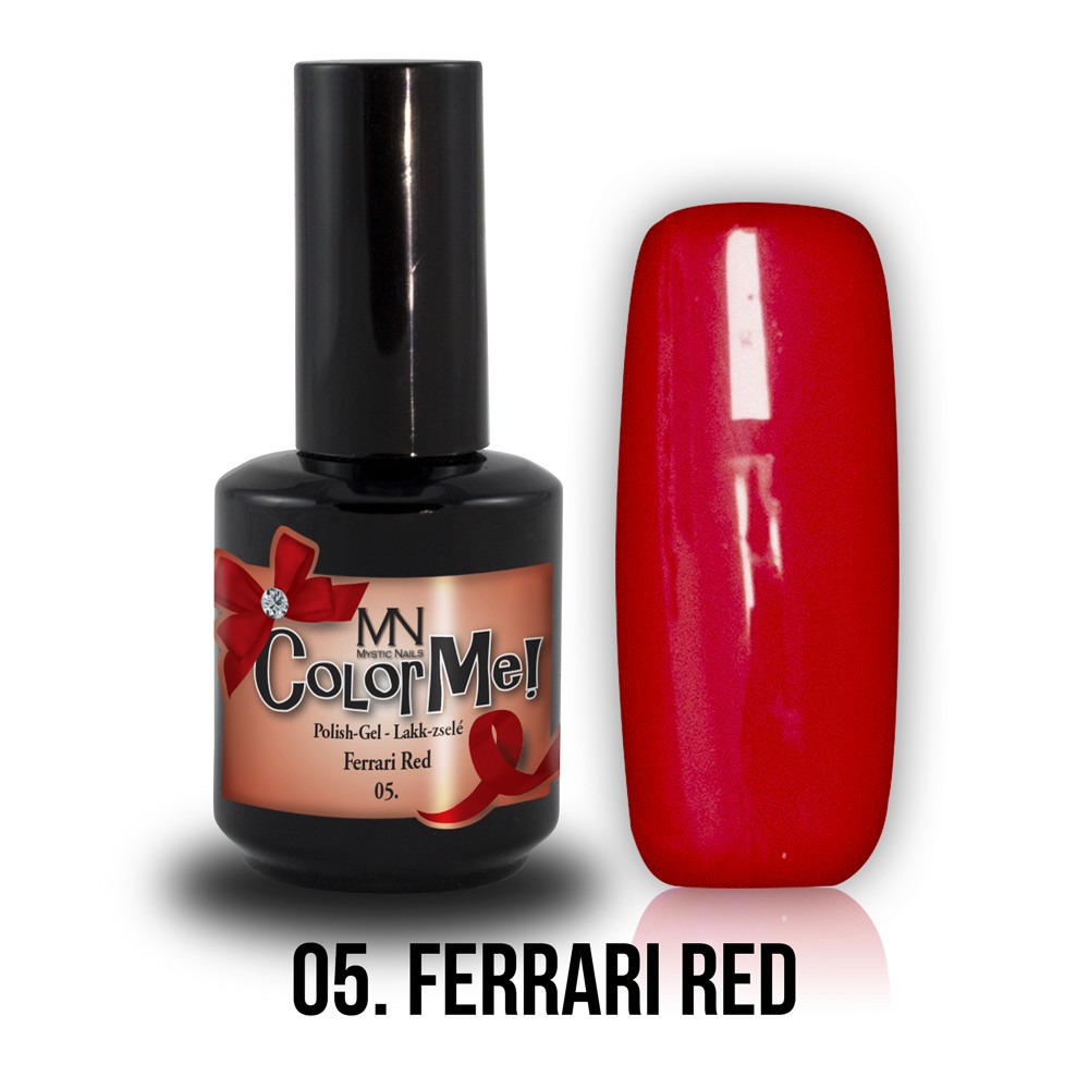 Gel Polish ColorMe 05 ferrari red
