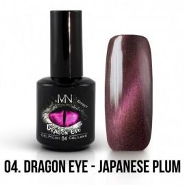 Gel Polish Dragon Eye Effect 04 - Japanese Plum 12ml