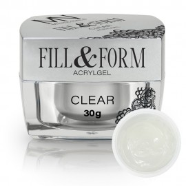 AcrylGel Fill & Form Gel Clear - 30g