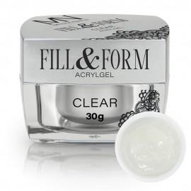 AcrylGel Fill & Form Gel Clear - 30g