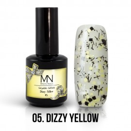 Gel Polish Dizzy no.05. - Dizzy Yellow 8 ml