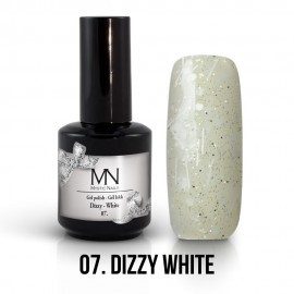 Gel Polish Dizzy no.07. - Dizzy White 8 ml