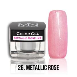 Color Gel - no.26. - Metallic Rose