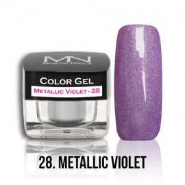 Color Gel - no.28. - Metallic Violet