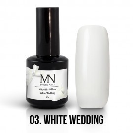 Gel Polish 03 - White Wedding 12ml