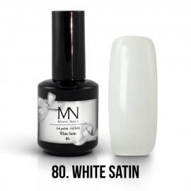 Gel Polish 80 - White Satin 12 ml