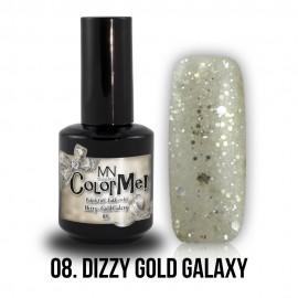 ColorMe! Dizzy no.08. - Dizzy Gold Galaxy 8 ml