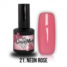 Gel Polish 21 - Neon Rose 8 ml