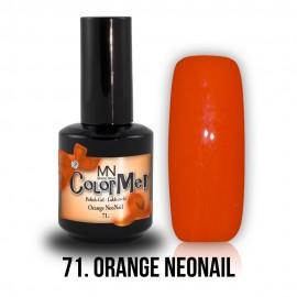 ColorMe! 71 - Orange NeoNail 12ml Gel Polish