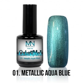 ColorMe! Metallic 01. - Metallic Aqua Blue 12 ml