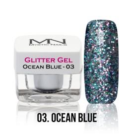 Glitter Gel - no.03. - Ocean Blue - 4g