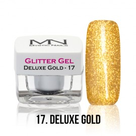 Glitter Gel - no.17. - Deluxe Gold - 4g