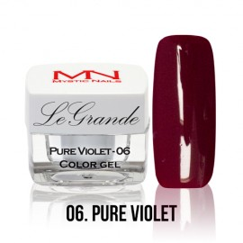 LeGrande Color Gel - no.06. - Pure Violet - 4 g