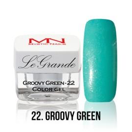 LeGrande Color Gel - no.22. - Groovy Green - 4 g