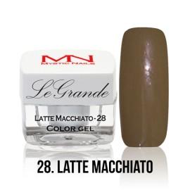 LeGrande Color Gel - no.28. - Latte Macchiato - 4 g