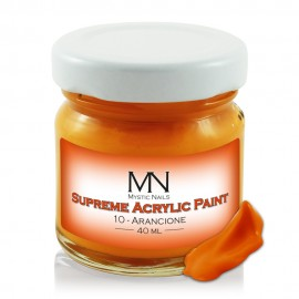 Supreme Acrylic Paint - 10 Arancione - 40ml