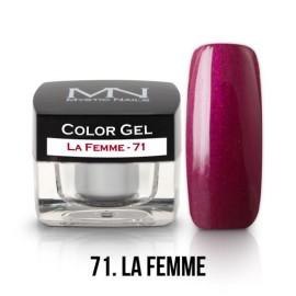 Color Gel - no.71. - La Femme