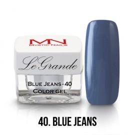 LeGrande Color Gel - no.40 - Blue Jeans - 4g