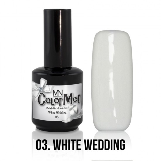 ColorMe! 03 - White Wedding 12ml Gel Polish