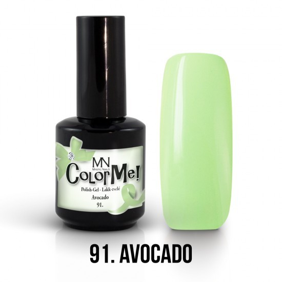 ColorMe! 91 - Avocado 12ml Gel Polish