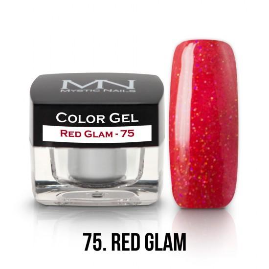 Color Gel - no.75. - Red Glam