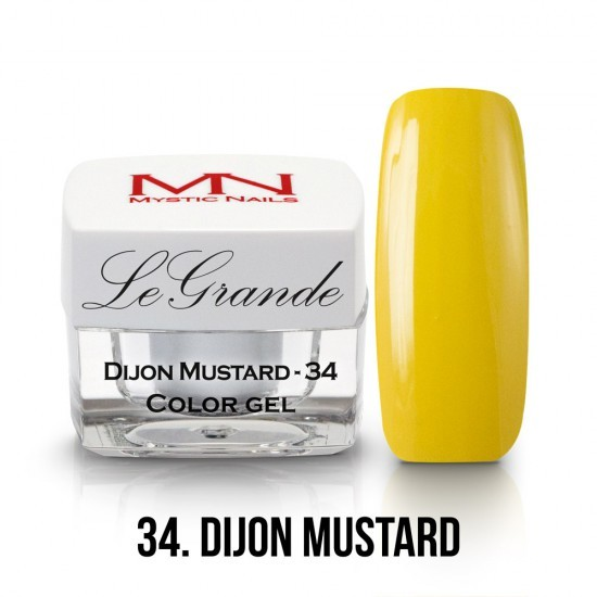 LeGrande Color Gel - no.34. - Dijon Mustard - 4 g